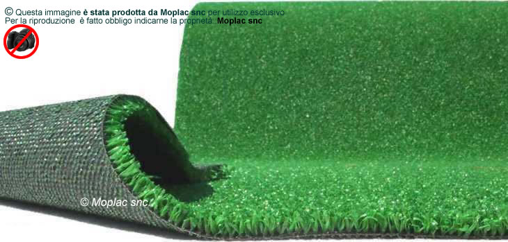 Erba sintetica dundee spessore 10 mm con filo ritorto for Prato sintetico listino