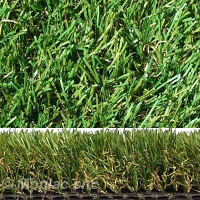 erba sintetica eden 40 con radice mista paglia verde un